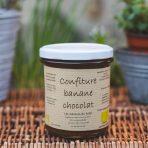 Confiture bio à la Banane-chocolat